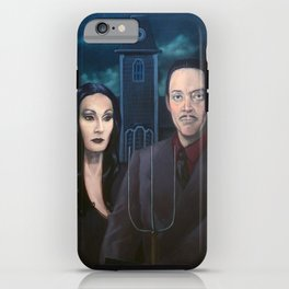 Addams Family Gothic iPhone Case