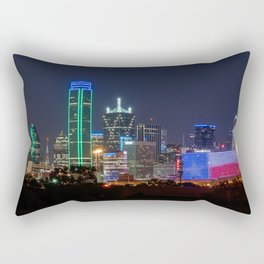 This is Texas! Dallas, Texas! Rectangular Pillow