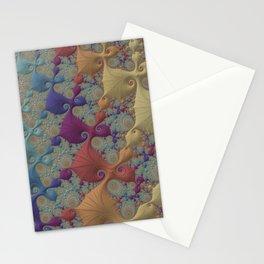 Pastel Parade - Fractal Art  Stationery Cards