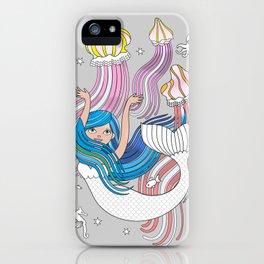 Mermaid with Medusas iPhone Case