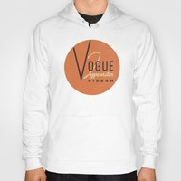 vogue Hoodies featuring Vogue by One Little Bird Studio