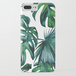 Tropical Palm Leaves Classic II iPhone Case