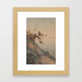 ALEKSEY ALEXANDROVICH PISEMSKY, EARLY EVENING LIGHT Framed Art Print