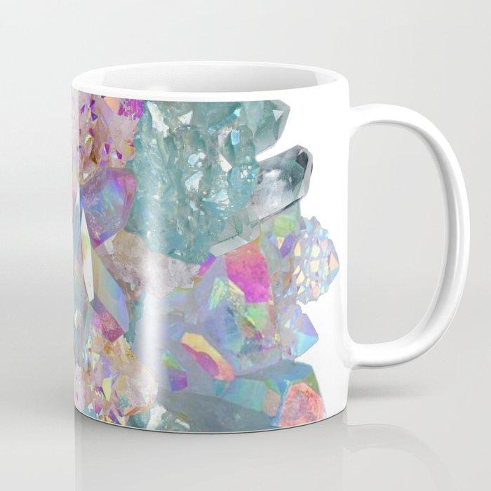 Mermaid Sea Spray Crystal Mandala Coffee Mug