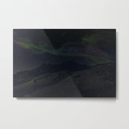 Hoth Northern Lights Metal Print