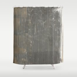Rusty. Fashion Textures Shower Curtain