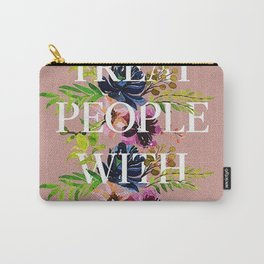 Treat People With Kindness graphic artwork / Harry Styles Carry-All Pouch