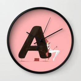 Agathe & Sauna Wall Clock
