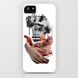 feel like a piggy today... iPhone Case