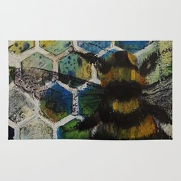 Bee Kind to One Another Rug