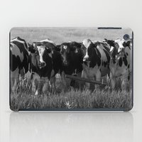 cows iPad Cases featuring Cows by Julie Luke
