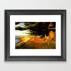 Reflective Light Framed Art Print
