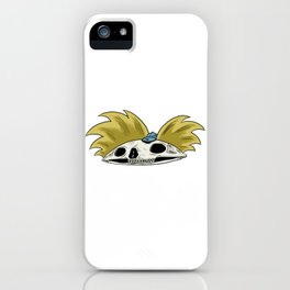 Hey Arnold Skull iPhone Case