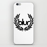 blur iPhone & iPod Skins featuring blur by s1jeong