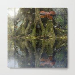 Living Roots Metal Print