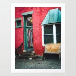 Bloomington Indiana Colors Art Print