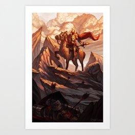 The Righteous Dawn Art Print