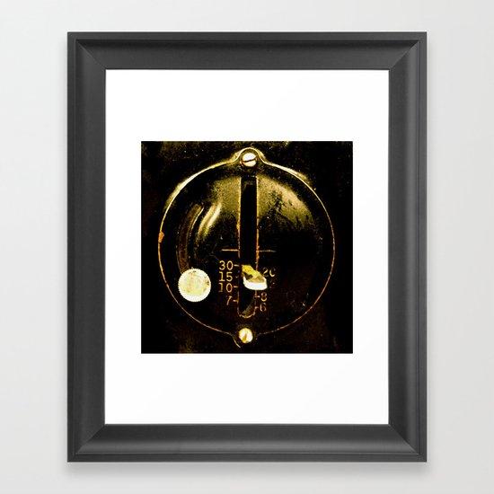 singer 2 Framed Art Print