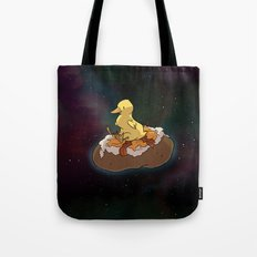 Space Duck Tote Bag