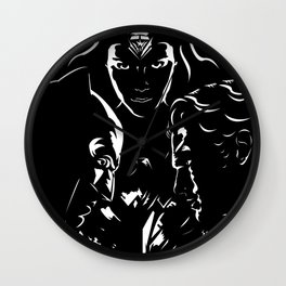 Dawn of Justice Wall Clock