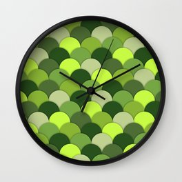 Lima . Lime Wall Clock