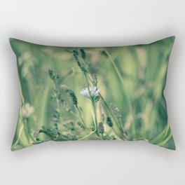 Green wild nature Rectangular Pillow