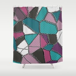 Country patchwork Shower Curtain