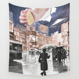 Rainy Days Wall Tapestry