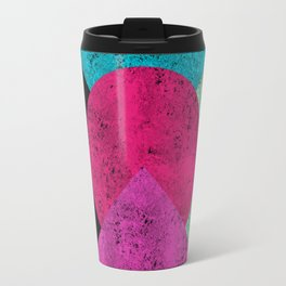 Colorful Abstract Geometric Background Travel Mug