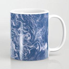 Sea ice floes swirl in Sea of Okhotsk Coffee Mug