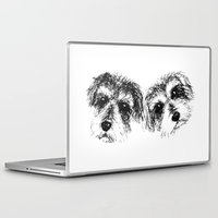 mac Laptop & iPad Skins featuring Mac & Ariel by Dara Denney