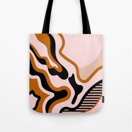 Beautiful Journey - Caramel and Cream Tote Bag