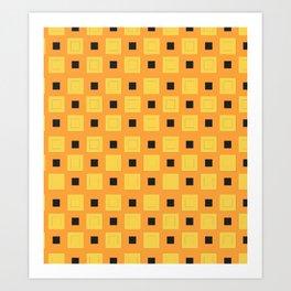 JoJo - Narancia Ghirga Pattern Art Print