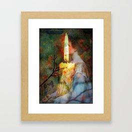 The Light Inside Framed Art Print