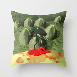 Alien Covenant - Baby Xeno Throw Pillow
