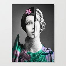Collage art#sculpture Canvas Print