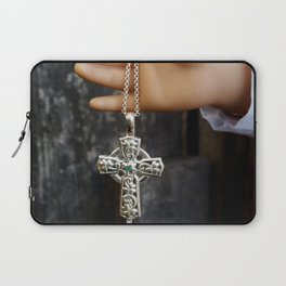 Celtic Cross Laptop Sleeve