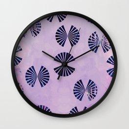 Petal Swings Wall Clock