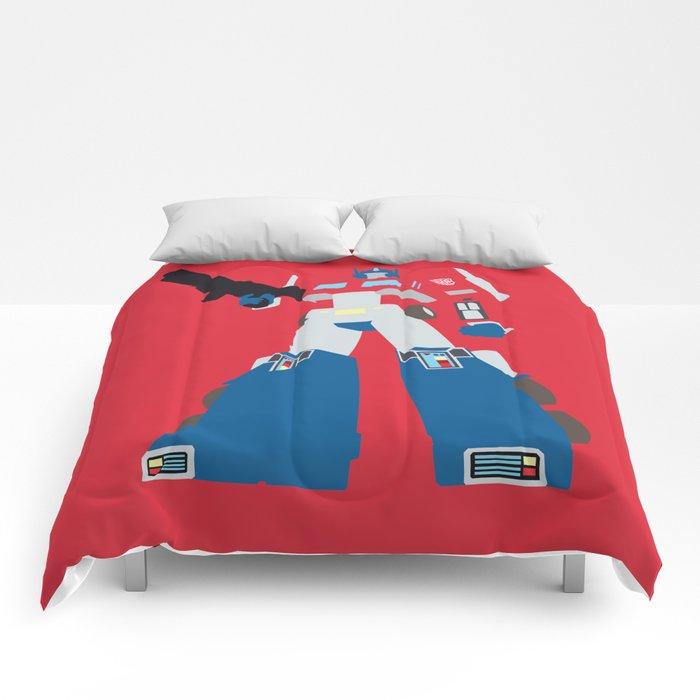 Transformers G1 Optimus Prime Comforters By Derfgnay