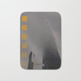 Cloudy Chicago Bath Mat