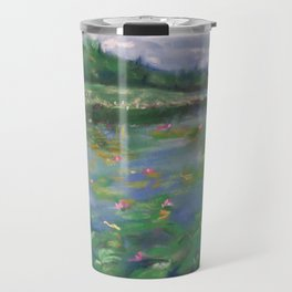 Lily Pond Travel Mug