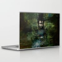 chinese Laptop & iPad Skins featuring Chinese shade by Joe Ganech