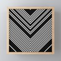 Back and White Lines Minimal Pattern no.2 by alvestegui