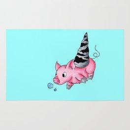 Orthoceras Piggy Rug
