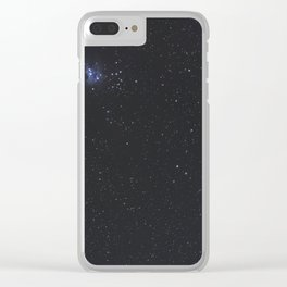 Great Nebula in Orion, Wide Angle View. Clear iPhone Case