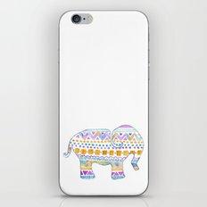 boho elephant iPhone & iPod Skin