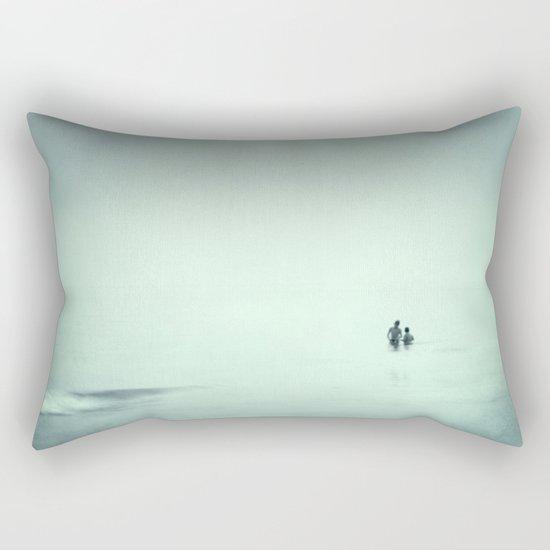 Calm swim Rectangular Pillow