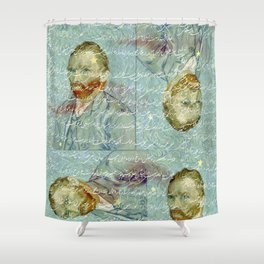 Persian mix: van Gogh Shower Curtain
