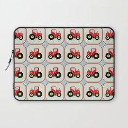 Toy tractor pattern Laptop Sleeve
