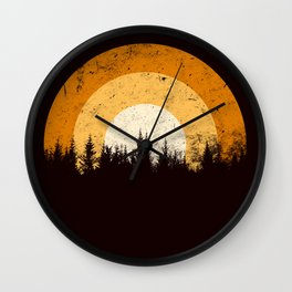the last day of summer Wall Clock